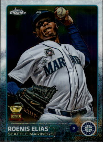 Photo of 2015 Topps Chrome #20 Roenis Elias
