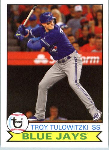 Photo of 2016 Topps Archives #136 Troy Tulowitzki
