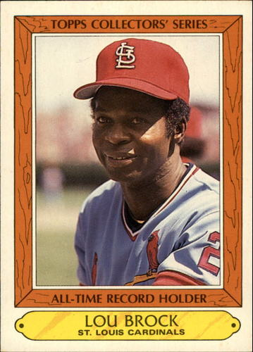 Photo of 1985 Woolworth's Topps #5 Lou Brock