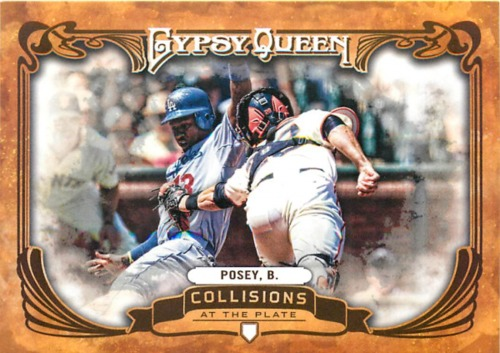 Photo of 2013 Topps Gypsy Queen Collisions At The Plate #BP Buster Posey