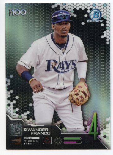 Photo of 2019 Bowman Chrome Scouts Top 100 #BTP4 Wander Franco