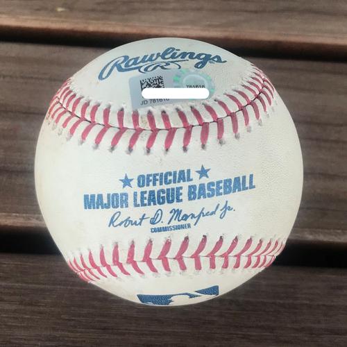 Photo of Baseball - Max Scherzer Strikeout