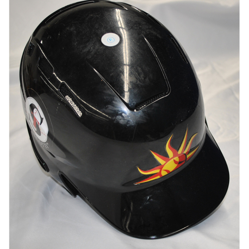 Photo of Arizona Fall League - Game-Used Batting Helmet - Player Name: Miguel Amaya (CHC), Jersey Number: 33