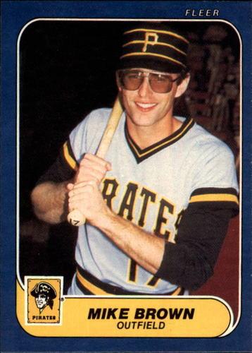 Photo of 1986 Fleer #605 Mike C. Brown