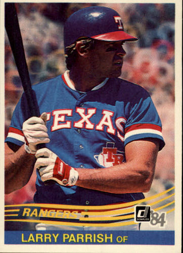 Photo of 1984 Donruss #422 Larry Parrish