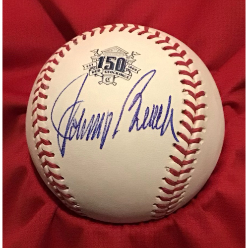 Photo of Johnny Bench Autographed 150 Baseball