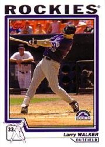 Photo of 2004 Topps #512 Larry Walker