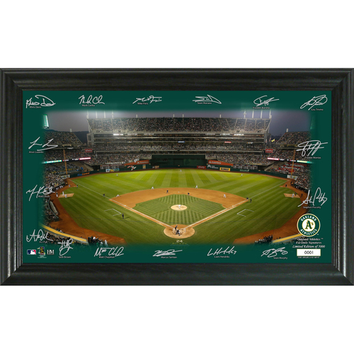Photo of Oakland Athletics 2020 Signature Field Limited Edition Frame