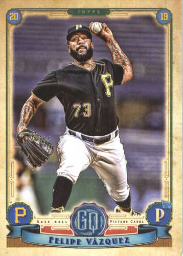 Photo of 2019 Topps Gypsy Queen #244 Felipe Vazquez