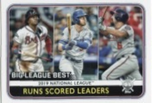 Photo of 2020 Topps Big League #238 Anthony Rendon/Cody Bellinger/Ronald Acuna Jr. LL