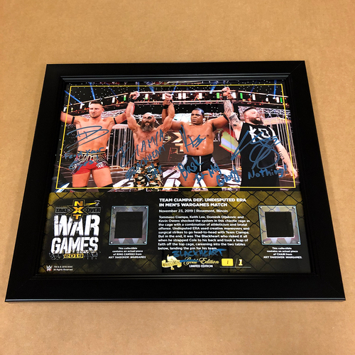 "Photo of Team Ciampa SIGNED Custom ""Blackheart"" Edition Frame (#1 of 1)"