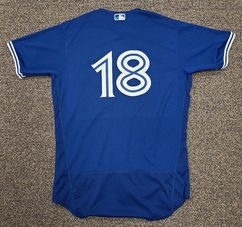 Photo of Authenticated Team Issued 2020 Spring Training Jersey: #18 Guillermo Martinez. Size 46