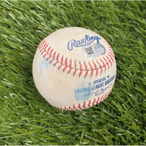 Photo of Game-Used Baseball - Kyle Schwarber Foul - 6/19/21 Game 1