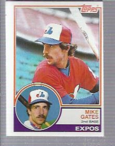 Photo of 1983 Topps #657 Mike Gates