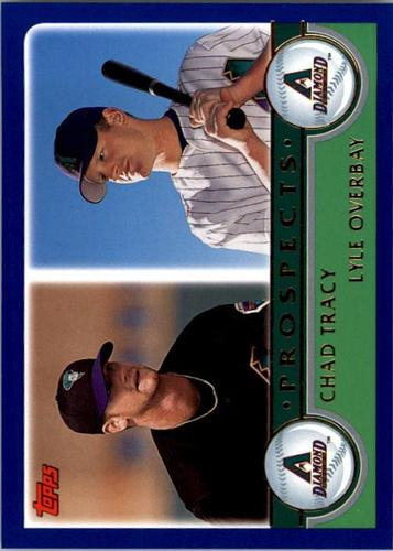 Photo of 2003 Topps #678 C.Tracy/L.Overbay