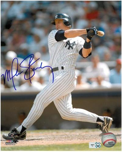 Photo of Mike Stanley Autographed 8x10 Photo