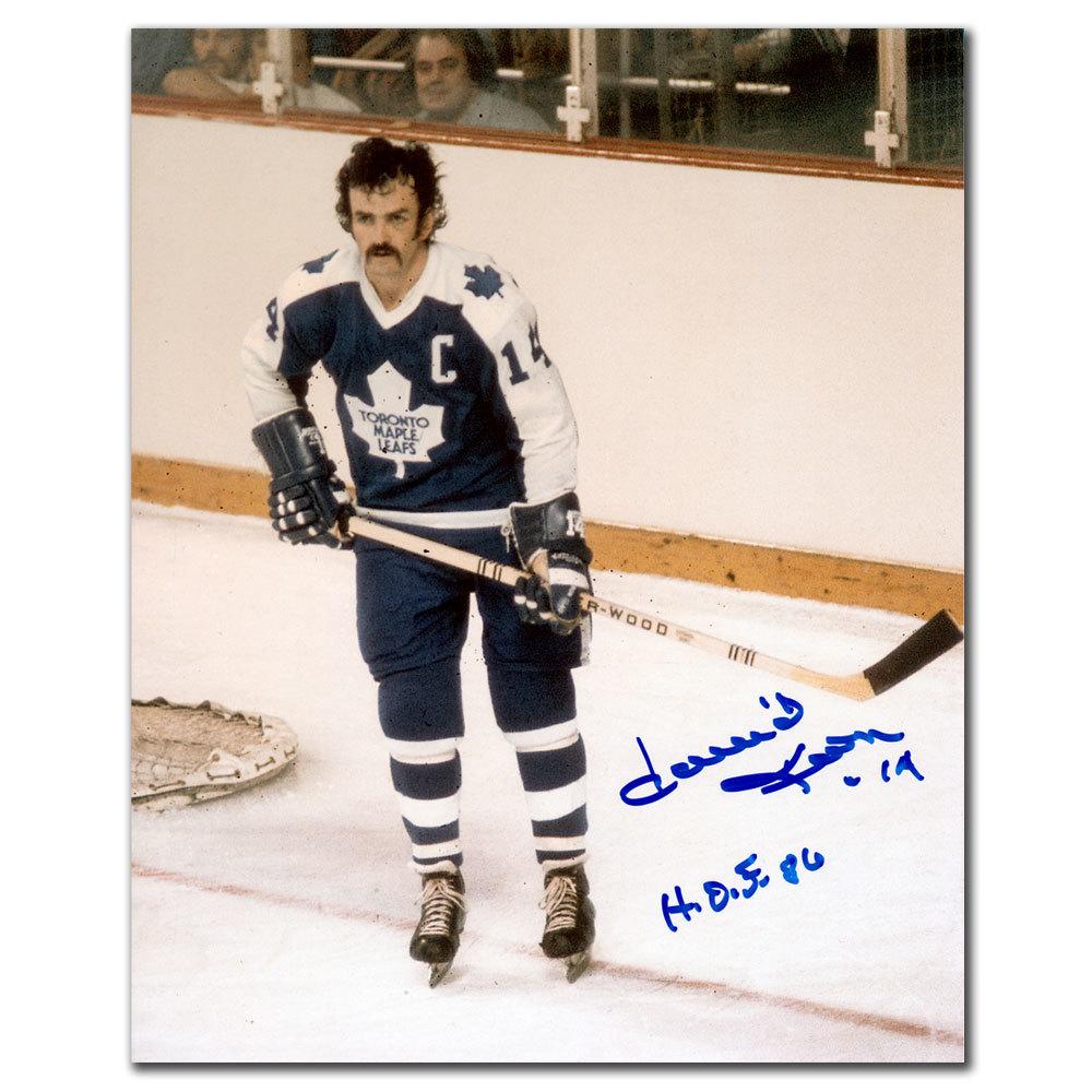 Dave Keon Toronto Maple Leafs HOF CAPTAIN Autographed 8x10
