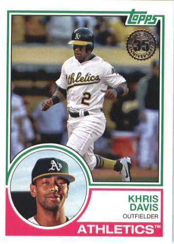 Photo of 2018 Topps '83 Topps #838 Khris Davis