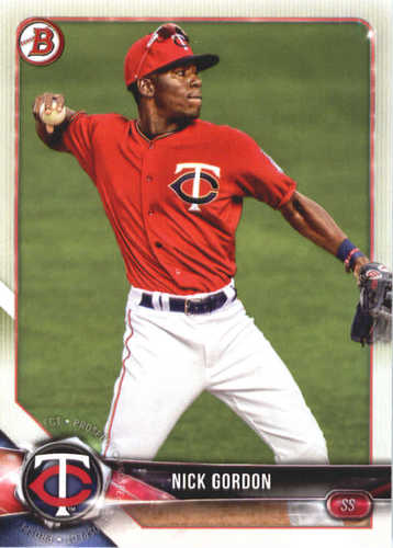 Photo of 2018 Bowman Prospects #BP49 Nick Gordon