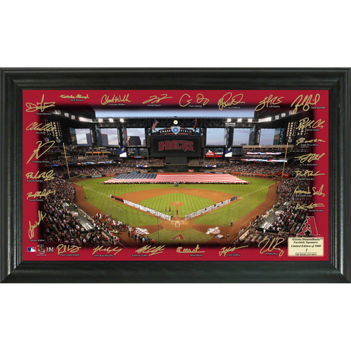 Photo of Serial #1! Arizona Diamondbacks 2018 Signature Field