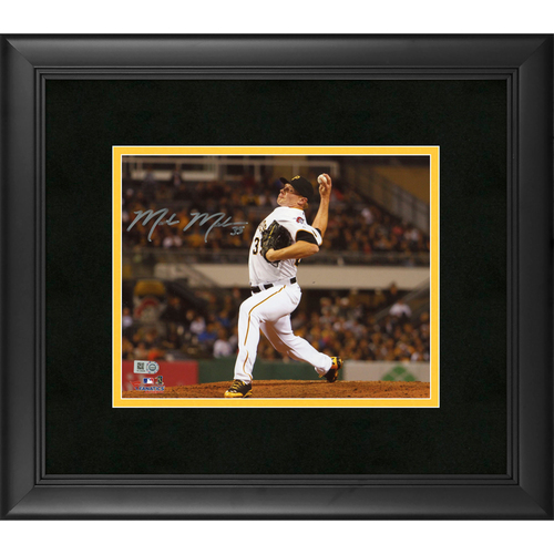 "Photo of Mark Melancon Pittsburgh Pirates Framed Autographed 8'' x 10"" Photo"