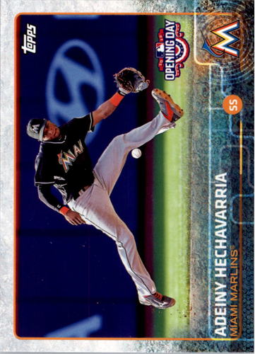 Photo of 2015 Topps Opening Day #125 Adeiny Hechavarria
