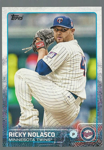 Photo of 2015 Topps #185 Ricky Nolasco