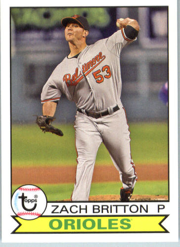 Photo of 2016 Topps Archives #137 Zach Britton
