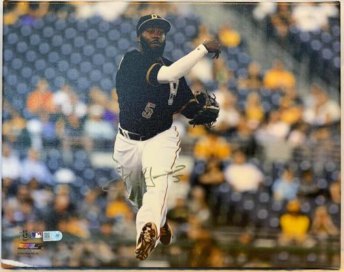 Photo of Josh Harrison Autographed Stretched Canvas Photo