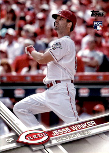 Photo of 2017 Topps Update #US271A Jesse Winker Rookie Card