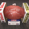 NFL - Dolphins Jason Taylor signed authentic football