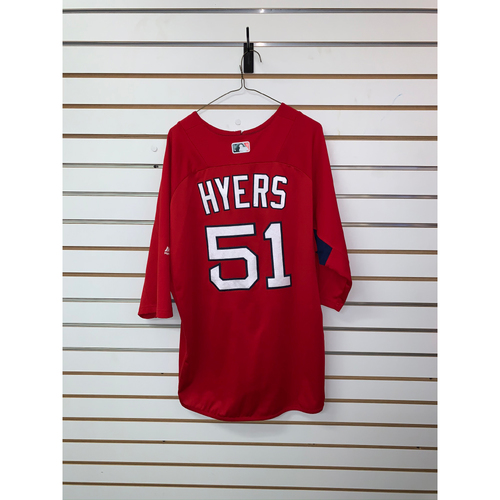 Photo of Tim Hyers Team Issued Home Batting Practice Jersey