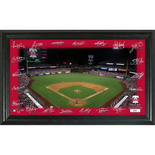 Photo of Philadelphia Phillies 2020 Signature Field Limited Edition Frame