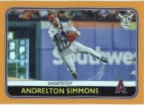 Photo of 2020 Topps Big League Orange #130 Andrelton Simmons