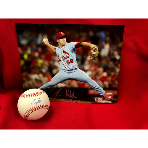 Photo of Ryan Helsley Autographed Baseball and Photo