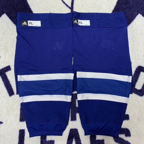 Blue Home Adidas Game Used Socks (Size XL)