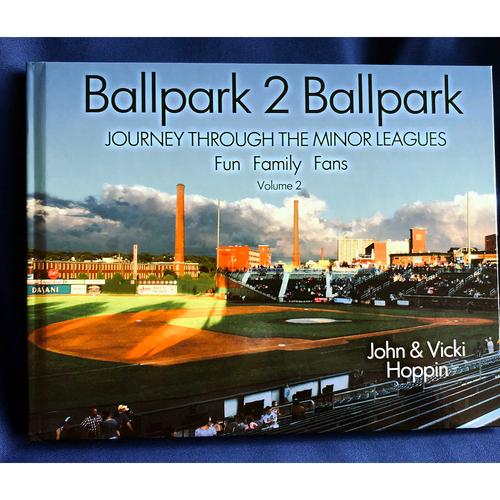 Photo of UMPS CARE AUCTION: Ballpark 2 Ballpark Journey through the Minor Leagues Volume 2
