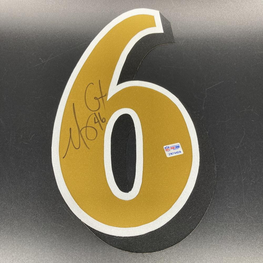 NFL - Ravens Morgan Cox Signed Jersey Number