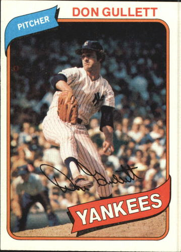 Photo of 1980 Topps #435 Don Gullett