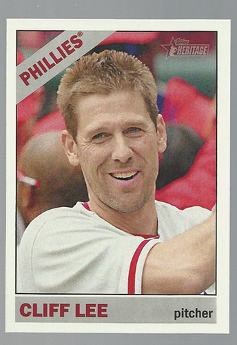Photo of 2015 Topps Heritage #343 Cliff Lee
