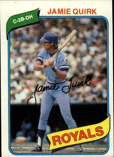 Photo of 1980 Topps #248 Jamie Quirk