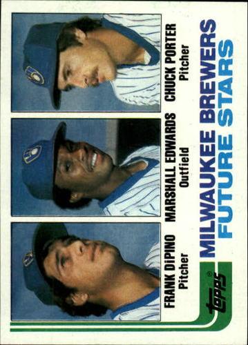 Photo of 1982 Topps #333 Frank DiPino RC/Marshall Edwards RC/Chuck Porter RC