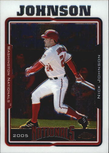 Photo of 2005 Topps Chrome #341 Nick Johnson