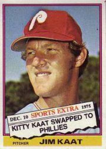 Photo of 1976 Topps Traded #80T Jim Kaat
