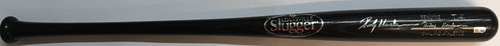 Photo of Rickey Henderson Autographed Louisville Slugger Game Model Bat