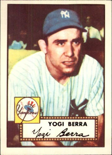 Photo of 1983 Topps 1952 Reprint #191 Yogi Berra