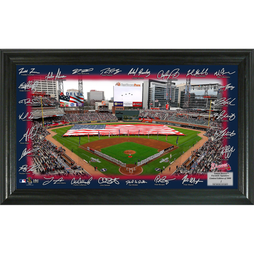 Photo of Serial #1! Atlanta Braves 2018 Signature Field