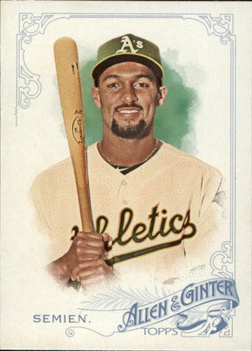 Photo of 2015 Topps Allen and Ginter #60 Marcus Semien