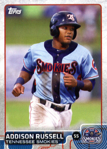 Photo of 2015 Topps Pro Debut #170A Addison Russell