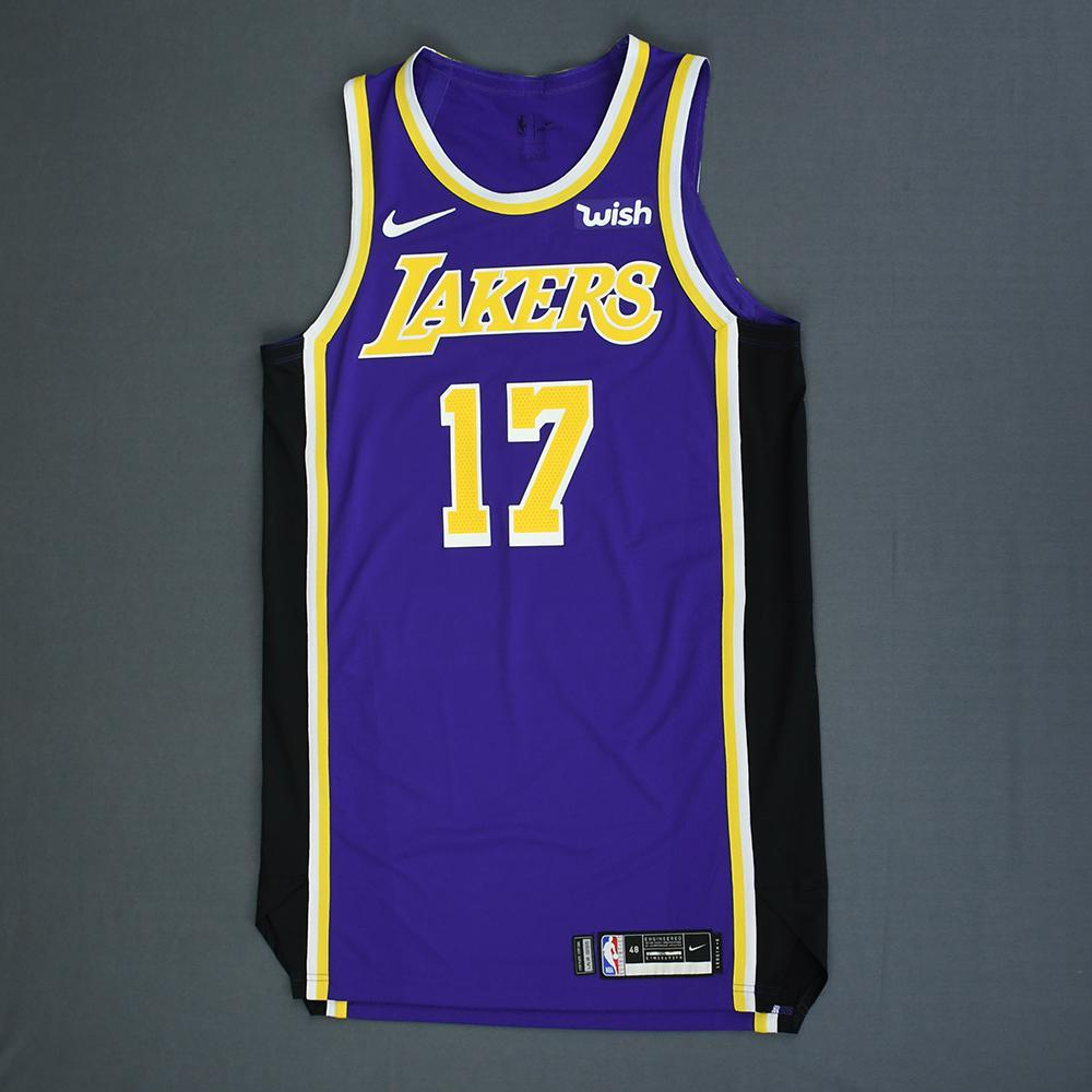 Isaac Bonga - Los Angeles Lakers - Game-Issued Statement Edition Jersey - 2018-19 Season